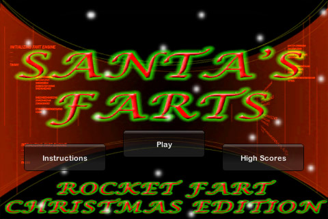 Screenshot Santa's Farts: Rocket Fart – Christmas Edition
