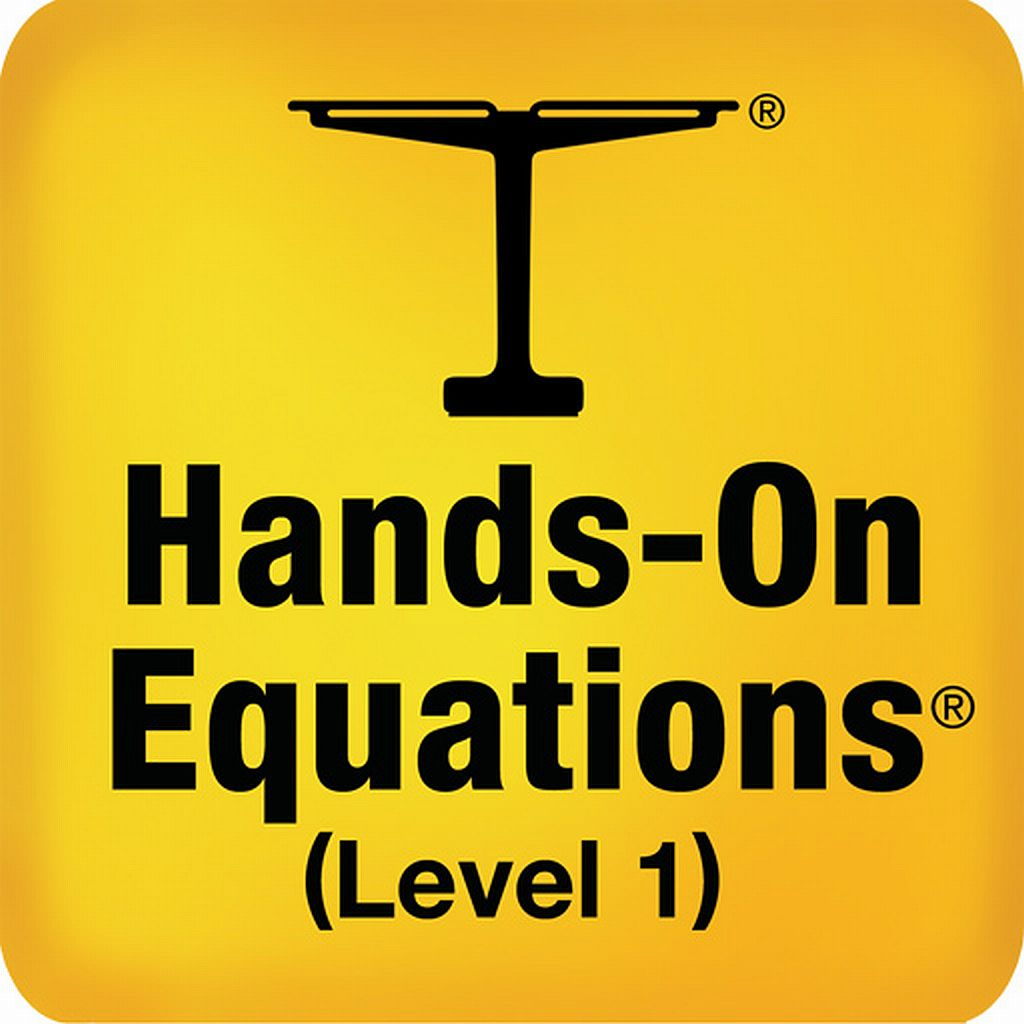 Hands-On Equations 1 - The Fun Way to Learn Algebra